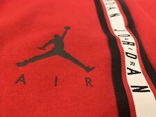 BNWT Mens Jordan Red Tracksuit Bottoms Size Medium - Unique