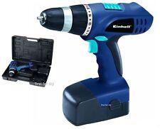 Controlador 18V EINHELL Taladro Destornillador & Batería en caso BT CD18 Nuevo