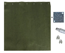 Pfeilfangmatte - Nature - 10m x 2m inkl. Zubehör & GRATIS-Backstop