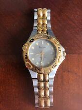 Bulova Watch Men's Marine Star Stainless Steel/Gold Bracelet Date Gray Dial