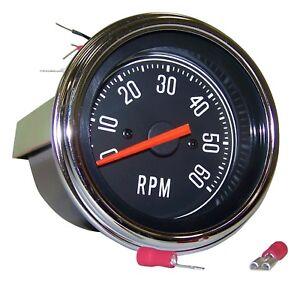 FITS 1976-1986 JEEP CJ5 CJ 7 CJ8 2.5L GM 2.5L AMC 4.2L 5.0L RPM TACHOMETER GAUGE