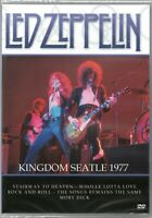 Led Zeppelin DVD Kingdom Seatle 1977 Brand New Sealed Rare