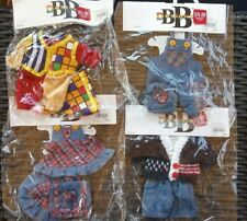 Lot of 4 Bb Designs for Beanie Babies Bears - New