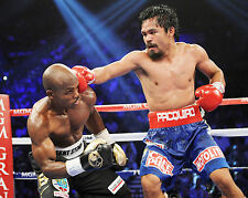 Manny Pacquiao vs Timothy Bradley - 8x10 Color Photo
