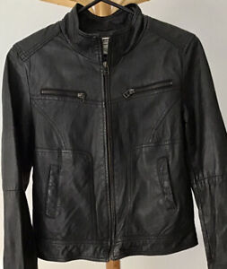 Just Jeans Leather Jacket Size 12