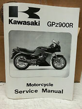 Kawasaki Service Manual ZX900 GPZ900 1984 - 1993 Factory 99924-1048-07