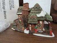 Dept 56 Dickens Village Lighted 1997 CROOKED FENCE COTTAGE 58304 Retired 1999
