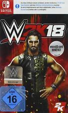 Nintendo Switch Game WWE 2k18 World Wide Wrestling 2018 24gb Required