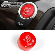 Red Start Stop Engine Push Button Switch Ignition Switch With Auto Start-Stop