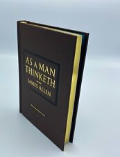 As A Man Thinketh by James Allen Luxury Edition - Perfect Gift Must Read NEW