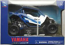 NewRay - Yamaha YXZ 1000R ATV / Side-By-Side Quad blau/weiß 1:18 Neu/OVP