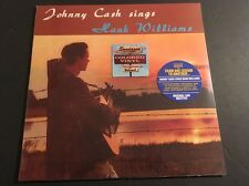 Johnny Cash – Sings Hank Williams - Limited Edition /500 Clear Colored Vinyl LP