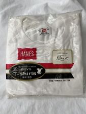 New listing Vintage Hanes Boys T Shirts Size 10 New In Package