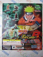 Anime Comic Naruto Full Color R Gashapon Toy Machine Paper Card Bandai Japan