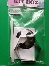 Kit Box Football Cutters for 8 inch 3D ball cake & instructions FAST DESPATCH