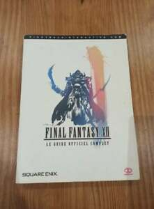 LE GUIDE OFFICIEL COMPLET FINAL FANTASY XII OCCASIONS FR