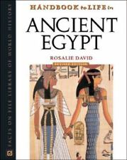 Handbook to Life in Ancient Egypt-ExLibrary