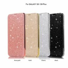 Bling Leather Wallet Card Slot Case Cover For Samsung Galaxy Note 9 S8+S9 Plus