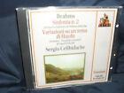 Brahms - Sinfonia N.2 / Variazioni Su Un Tema Di Haydn -Celibidache