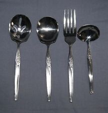 Hull Stainless flatware Island Queen pattern, serving set
