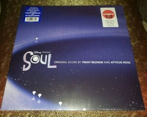 Pixar SOUL Limited Edition Crystal Clear Vinyl Sealed!