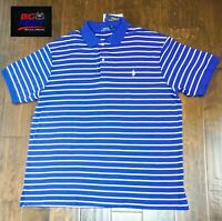 New Big & Tall Men's Polo Ralph Lauren Pony Classic Polo Shirt Size 1XB Big
