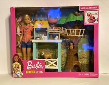 Barbie Animal Rescuer Doll and Playset (FCP78) New in Box NIB