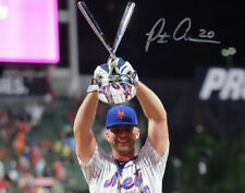 PETE ALONSO SIGNED PHOTO 8X10 RP AUTOGRAPHED MLB NEW YORK METS HOME RUN DERBY !