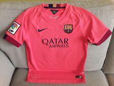 Barcelona Away Camiseta Edad 12-13 años 11 Neymar Jr Nike Dri-Fit 2014-2015 en muy buena condición