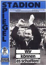 II BL 83/84 MSV Duisburg - VfL Osnabrück, 06.05.1984