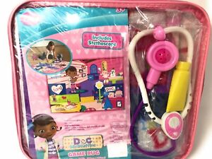"""Disney Doc McStuffins Game Rug 26.3"""" x 40"""" with Stethoscope"""