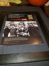 Our Lady Peace 4 Am Rare Original Radio Promo Poster Ad Framed!