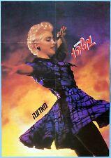 Madonna Original Poster Israel Youth magazine MASHEU 1990