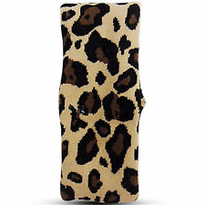 NEW WOMENS LADIES BROWN LEOPARD ANIMAL PRINT HEADBAND FANCY DRESS PARTY