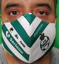 Santos Laguna 2020 Season Mouth & Nose Cover Face-Mask Double Layer Protection