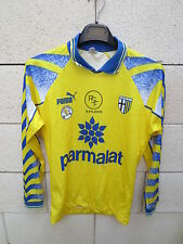 VINTAGE Maillot PARME porté n°7 maglia PARMA scuola Calcio indossatta M shirt