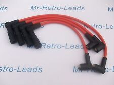 ORANGE 8MM PERFORMANCE IGNITION LEADS PUNTO 1.4 GT TURBO FACET QUALITY HT LEADS