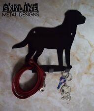 Labrador Dog Leash Key Keys KEY HANGER Holder Hook Metal Home Decor Gift