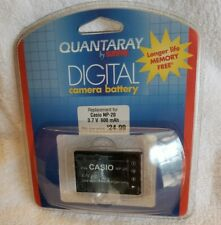 Quantaray By Sunpak Replacement Digital Battery for CASIO NP20 3.7V 600 mAh