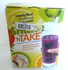 Sports Bottle Blender Shake N Take Just Blend and Go New