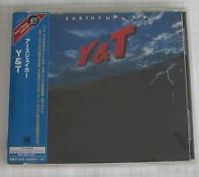 Y & T - Earthshaker JAPAN CD OBI NEU RAR! UICY-3736