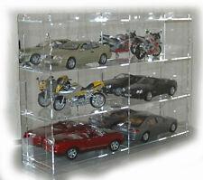 sudu® Sammelvitrine Setzkasten Schaukasten Acrylglas für Modellautos 1:18