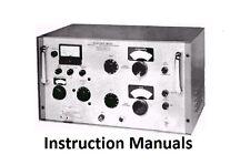 Boonton Instruction Manuals * Electronics * CDROM * PDF