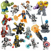LEGO MINIFIGURES AVENGERS ENDGAME SUPERHEROES MARVEL DC THANOS DEADPOOL IRON MAN