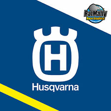 HUSQVARNA MOTORCYCLES GRAPHICS - RACE TRACK SUPERMOTO - DECALS x4 *RatMally