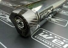 Ducati 900 Ss Injektion Modell 98 02 Paar Oval Edelstahl Carbon Ausgang Auspuff