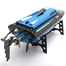 2.4G 4CH Water Cooling High Speed RC Remote Control Simulation Racing Boat Blue