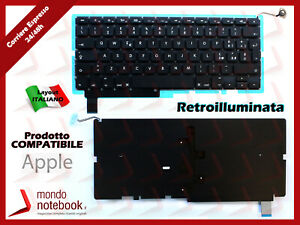 "Tastiera Italiana Apple Macbook Pro 15"" (Late 2011) A1286 (Retroilluminata)"