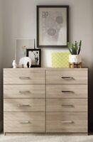 Ready Assembled Roma Rimini Oak Wardrobe Drawers Complete Bedroom Furniture Set