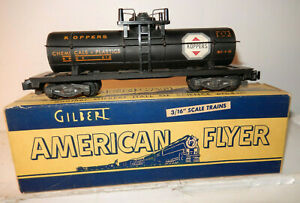 American Flyer 912 Kopper Chemical Car  Looks New?  Great, White Stickers OB